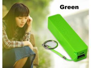 Portable 2600mAh Power Bank 18650 External Backup Battery Charger W/ Key Chain USB Cable for iphone 5S 5 4S S4 lot/ipod/Samsung/htc/LG ...