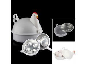 Chicken Shape Microwave 4 Egg Boiler Steamer Poacher Boiler Cooker Kitchen Tools