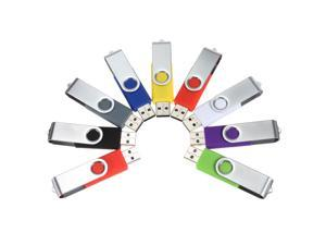8G 8 GB Foldable USB 2.0 Flash Memory Thumb Stick Jump Drive Fold Storage Pen Key - Black