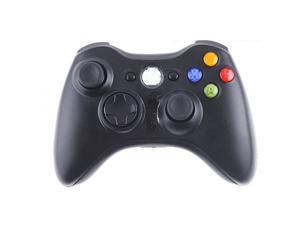 2.4GHz Black Wireless Remote Shock Gamepad Joypad Game Controller for Microsoft Xbox 360
