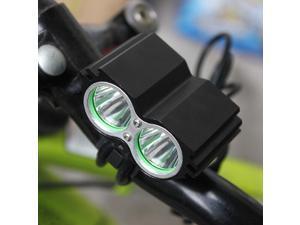 5000Lm 2x CREE XM L2 LED Bike Headlight Bicycle Headlamp Cycling Head Lamp Front Light Flashlight