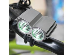 5000Lm 2x CREE XM L2 LED Bike Headlight Bicycle Headlamp Cycling Head Lamp Front Light Flashlight