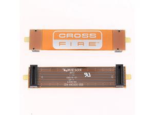 "2x ATI 4"" Long Cross Fire Electronic Bridge Flexible Interconnect"