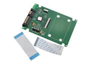 1.8 ZIF/LIF 2.5 HDD Hard Disk Drive SSD to 7+15 22 Pin SATA Adapter