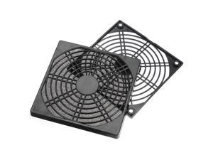 2 PCS 120mm Dustproof Case PC Computer Fan Dust Filter Guard Grill Protector Cover