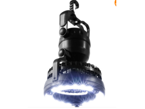 18 LED Camping Hiking Light Lamp + Ceiling Fan Weather Resistant Hand Held Hook