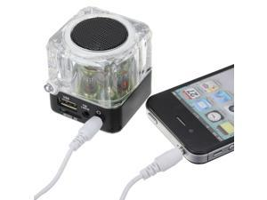 Mini Portable LCD Music SD/TF Player USB Speaker FM Radio for iPhone 4S 5s 5c 5 iPod u disk MP3 MP4 PC laptop Notebook iPod