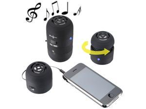 Mini LED Portable Multimedia USB Speaker for Mp3 Cell Phone iPod iPhone ipad Samsung Galaxy Sony Laptop PC/ Black