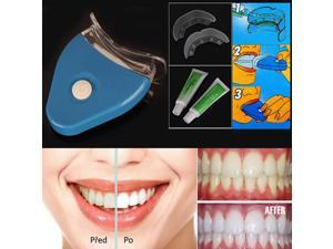 New Tooth Teeth Whitening Whitener Kit Dental Oral Gel Care Treatment Light Home