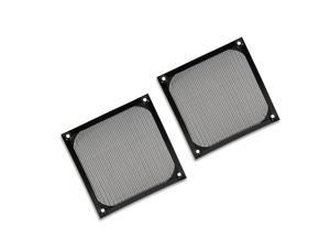 2 PCS 120mm PC Computer Fan Cooling Dust Filter Case Cover Dustproof For Aluminum Grill Guard
