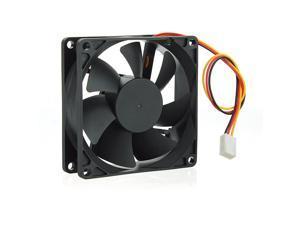 Case Fan 12V DC 50CFM PC CPU Cooling Sleeve Bearing 3 Pin 80mm 25mm