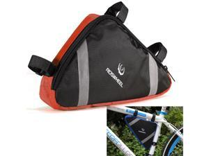 Cycling Bike Bicycle Triangle Front Top Tube Bag Frame Pouch Saddle Bag Outdoor Waterproof