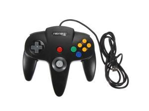 Classic Wired Nintendo 64 N64 USB Controller Game Gaming Gamepad Joypad Joystick for PC MAC Computer BLACK