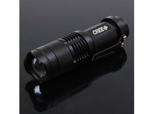 Mini 7W 400lm UltraFire CREE Q5 LED Flashlight Zoomable Torch Light Waterproof 3 Modes