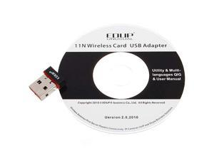 Nano Mini EDUP 150Mbps WiFi USB Wireless Network  LAN Adapter Card 802.11n/g/b