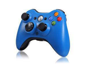 Wireless Remote Game Joypad Joystick Controller for Microsoft Xbox 360 Xbox360 Blue