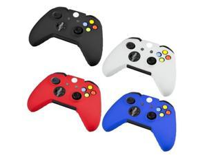 Protector Silicone Case Cover Skin Cap for Xbox one Gaming Game Controller Black