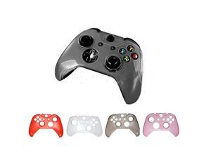 Hard Plastic Protective Gaming Game Crystal Case Shell Cover for Microsoft Xbox One Controller Grey