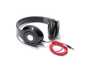 3.5mm Foldable Stereo Headset Headphone earphone for Laptop Tablet PC MP3/4 iPhone 5 HTC ipad