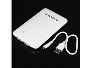 10000mAh 2A Dual Port USB Power Bank Backup Battery Charger for Cellphones iPad 3 apple Nokia Samsung galaxy note 3 s3 s4 ...
