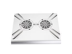 X-601 USB CPU Heat sinks Aluminium Cooling Pad Fan For 9~17inch Laptop pc