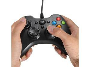 Wired  USB GamePad Game Shock Game Controller Joypad For Windows PC Black