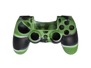 Rubber Camouflage Protective Silicone Case Skin Grip Cover For Playstation 4 Ps4 Game Controller