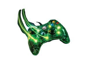 Transparent LED Wired Game Controller Joystick For Xbox 360 PC USB Port