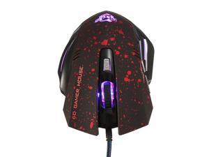 USB Optical 4X Wired Game Gaming Mouse Mice 1600DPI 6D for PC Mac Computer Laptop Mac windows XP Vista and Win 7 8