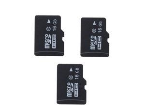 3x 16GB Class 10 Micro SD TF Micro SD Card For Mobile Phone