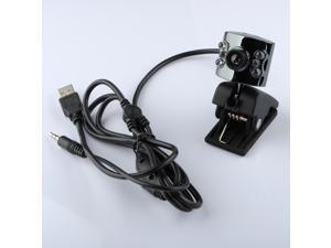 30.0M Mega 6Led Web Cam Camera Webcams USB + Mic for PC Laptop Notebook Win 7/8 Windows ME / 2000 / XP / Vista