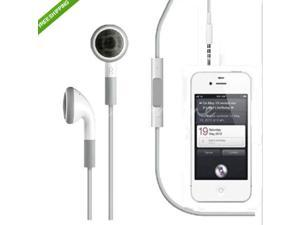 Earphone Headphone Headsets with on-off & Mic for Apple iPhone 4S 4 5 5S 5C iPod