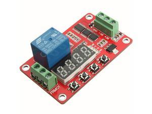 12V Relay Cycle Timer Module PLC Home Automation Delay Multifunction