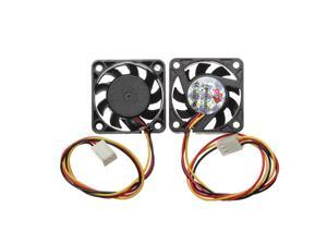 2pcs 40x40x10mm 3 Pins New Case Fan 12V DC CPU Fans Cooler Cooling PC Computer Heatsink 3pin