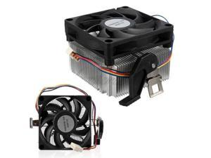 2pcs PC Computer 70mm Heatsink CPU Cooling Fan Cooler For AMD Socket 4Pins AM2 AM3 754