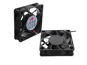 2x New Case Fan 12V DC CPU Cooler Cooling PC Computer Heatsink 60x60x15mm 4 Pins