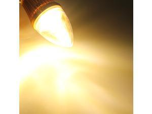 E12 3LED Non Dimmable Warm White Light Bulb Base 85-264V 4.2W
