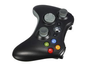 2.4GHz Black Wireless Remote Shock Gamepad Joypad Game Controller for Microsoft Xbox 360