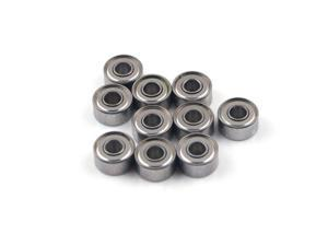 WAWO 10pcs MR83ZZ 3x8x3 Metal Shield Ball Bearing Ceramic Metric Hop-Up Heli Car Part