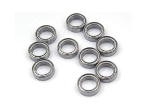 WAWO 10pcs MR128ZZ 8x12x3.5 Metal Shield Ball Bearing Ceramic Metric Hop-Up Heli Part