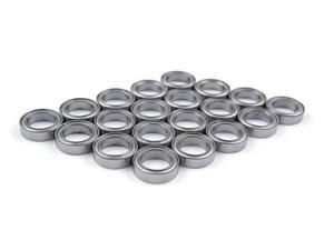 WAWO 20pcs 6701ZZ 12x18x4 Metal Shield Ball Bearing Ceramic Metric Hop-Up Heli Part