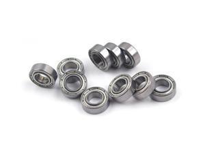 WAWO 10pcs 686ZZ 6x13x5 Metal Shield Ball Bearing Ceramic Metric Hop-Up Heli Car Part