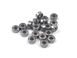 WAWO 20pcs 684ZZ 4x9x4 Metal Shield Ball Bearing Ceramic Metric Hop-Up Heli Toy Part