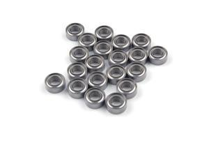 WAWO 20pcs MR84ZZ 4x8x3 Metal Shield Ball Bearing Ceramic Metric Hop-Up Heli Toy Part