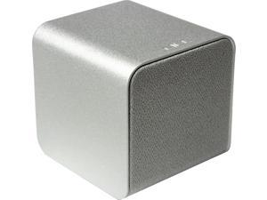 Nuforce - Cube - Portable Speaker, Headphone Amp, and USB DAC - Silver