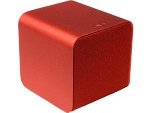 Nuforce - Cube - Portable Speaker, Headphone Amp, and USB DAC - Red