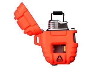Windmill Delta Shockproof Lighter, Blaze Orange 390-0008