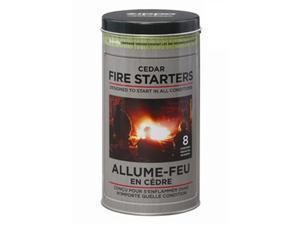 Zippo Cedar Fire Starter Tin, 8 pucks 44023