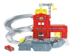 Matchbox Cliff Hangers Fire Station Playset W5882