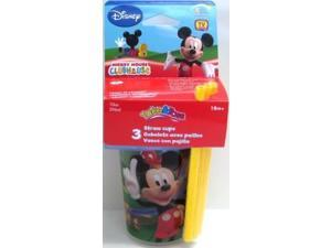 The First Years Mickey Take & Toss 10 oz Straw Cups, 3 pk Y9653